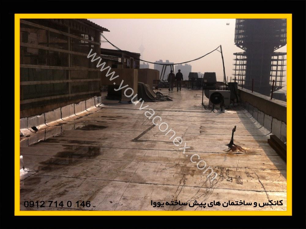 اضافه بنا بام بیمارستان آتیه تهران-01