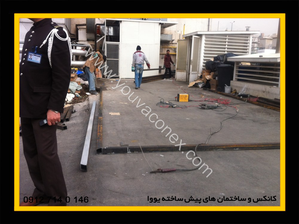 ساختمان پیش ساخته اتو کلاو بیمارستان آتیه تهران-02