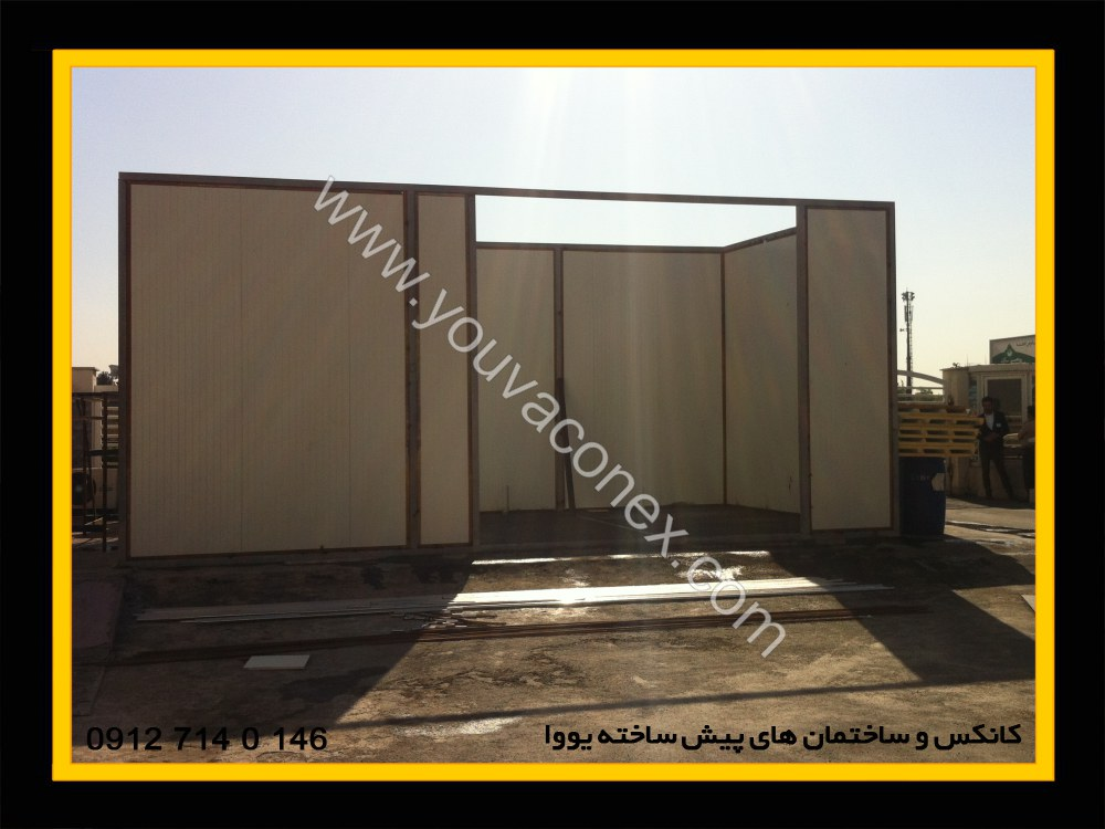 ساختمان پیش ساخته اتو کلاو بیمارستان آتیه تهران-09
