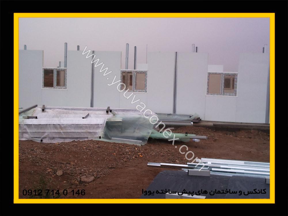 ساختمان پیش ساخته پانلی شرکت پرآب-06