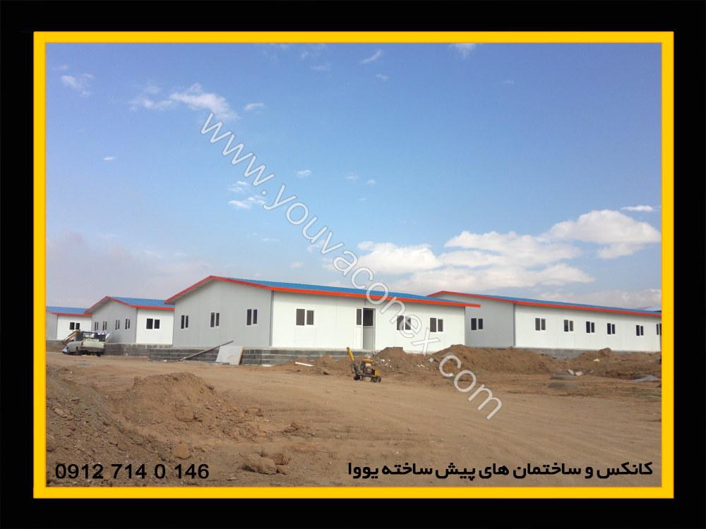 ساختمان پیش ساخته پانلی شرکت پرآب-12