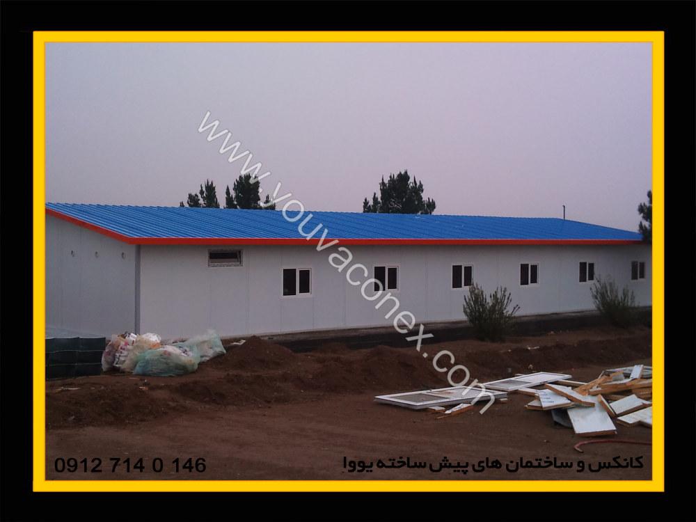 ساختمان پیش ساخته پانلی شرکت پرآب-13