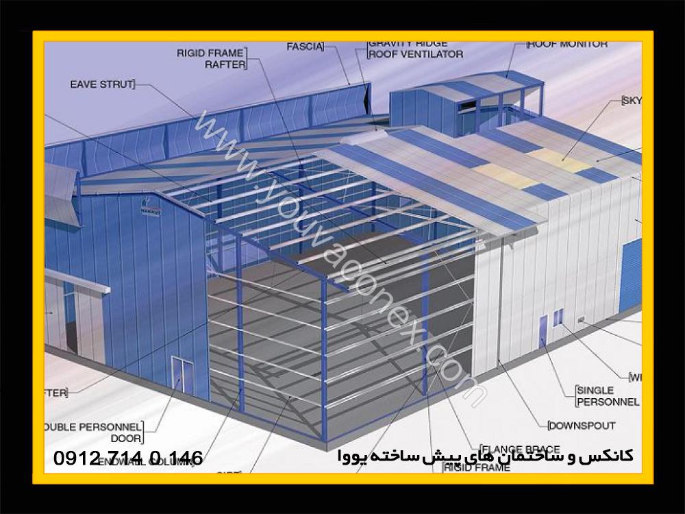 ساختمان پیش ساخته پانلی (1)