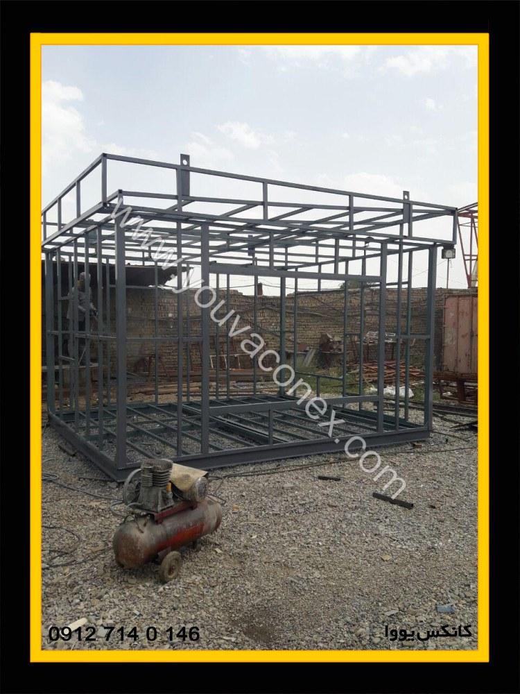 کانکس اداری کامپوزیت شرکت عمان ایر-04