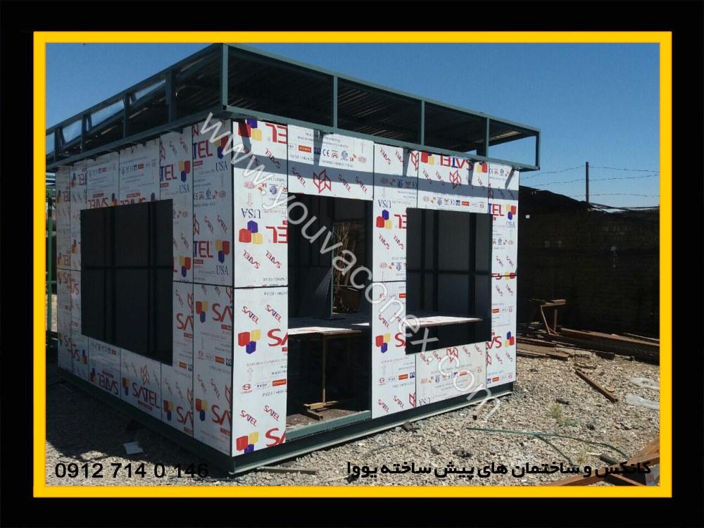 کانکس اداری کامپوزیت شرکت عمان ایر-06