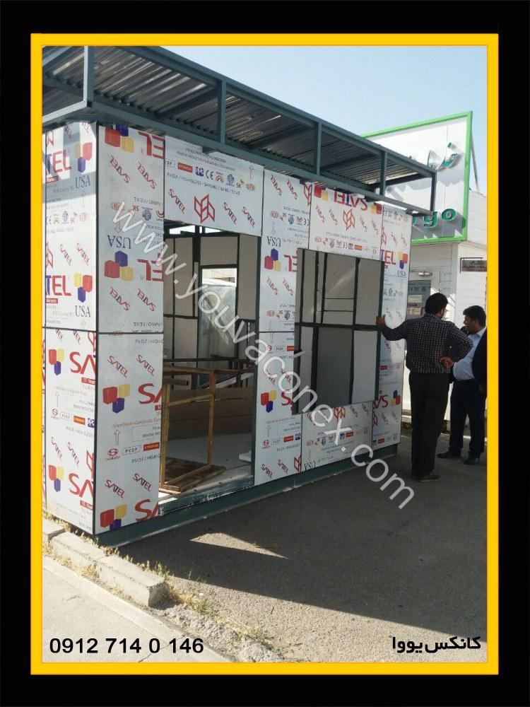 کانکس اداری کامپوزیت شرکت عمان ایر-08